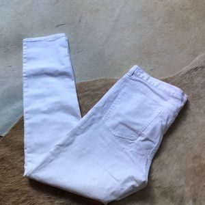 H&M White Jeans Size 34